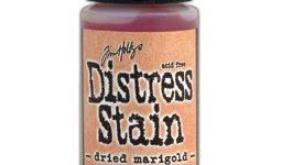 Distress Stain dried marigold