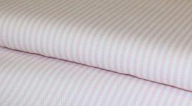 Tecido sarja riscas rosa