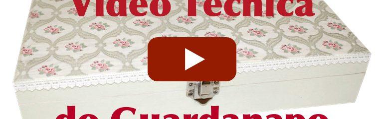 Vídeo: Técnica do Guardanapo