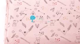 Tecido Malha Indi rosa