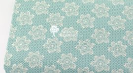 Tecido Flores rendadas Tiffany
