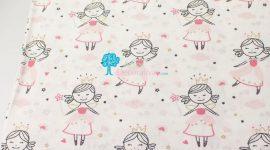 Tecido Princesas